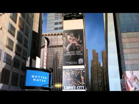 Times Square's Only 100% Solar Powered Billboard, by Ricoh