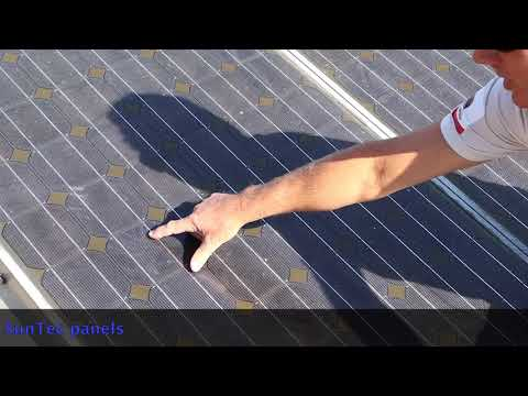 San Diego Solar- Examples of Solar Panel Damage and Microfractures