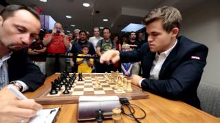 2015 Sinquefield Cup with Mike Matheny, Spot #1