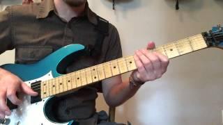 Exorcist theme (Tubular Bells) guitar lesson - Weekend Wankshop 45