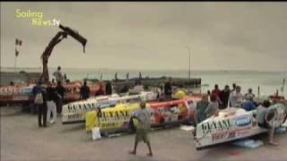 Bouvet Rames Guyane 2009 - le Grand départ