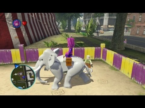 LEGO Marvel Super Heroes - Central Park 100% Guide (All Collectibles - Gold Bricks/Tokens/Missions)