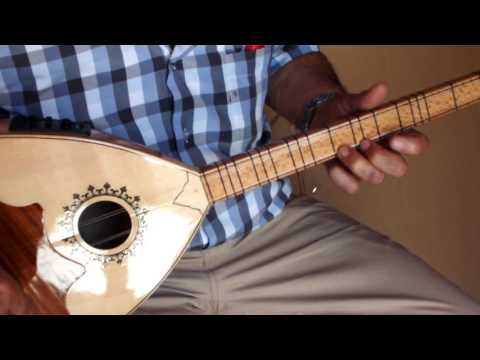 YAKO :: ARAB STRING INSTRUMENT ACOUSTIC BUZUQ WITH  EQUALIZER NEW !!!!