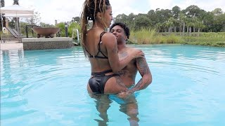 "I TOLD MY EX BRI LET'S ""DO IT"" IN THE POOL"