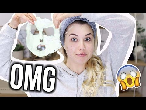 Crash Test: the scariest face mask!