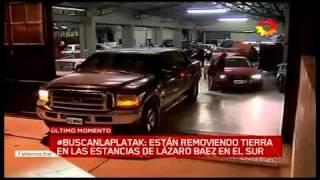 Allanamientos a los autos de Lazaro Baez -