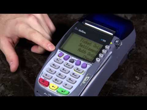 how to set up a credit card machine