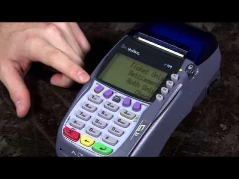 verifone vx570 credit card machine
