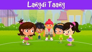 Langdi Taang | बच्चों के खेल | Indian Games For Kids | Outdoor Games For Kids | Jalebi Street
