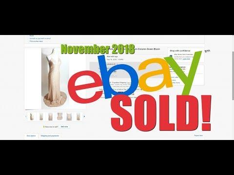 SOLD on eBay - November 2018 - Net Profit selling online - 동영상