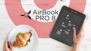 обзор на электронную книгу Airbook Pro 8