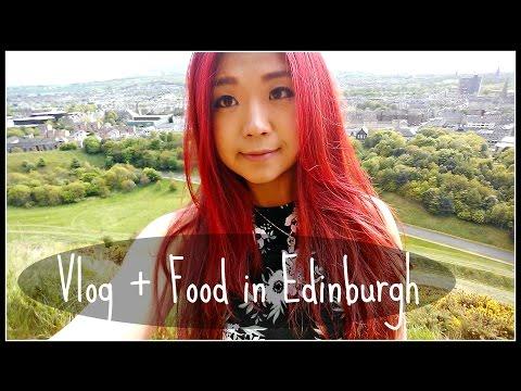 Travel Vlog + Vegan Food in Edinburgh, Scotland | Cheap Lazy Vegan
