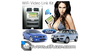 ford factory screen wifi audio video input kit voice control for ba bf fg falcon and ford territory