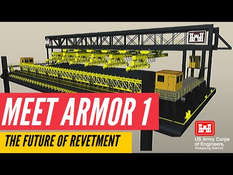 Meet Armor 1: The Future Of Revetment On The Mississippi River