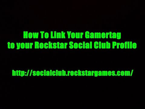 TUTORIAL- How to Link your Gamertag to Rockstar Social Club Profile