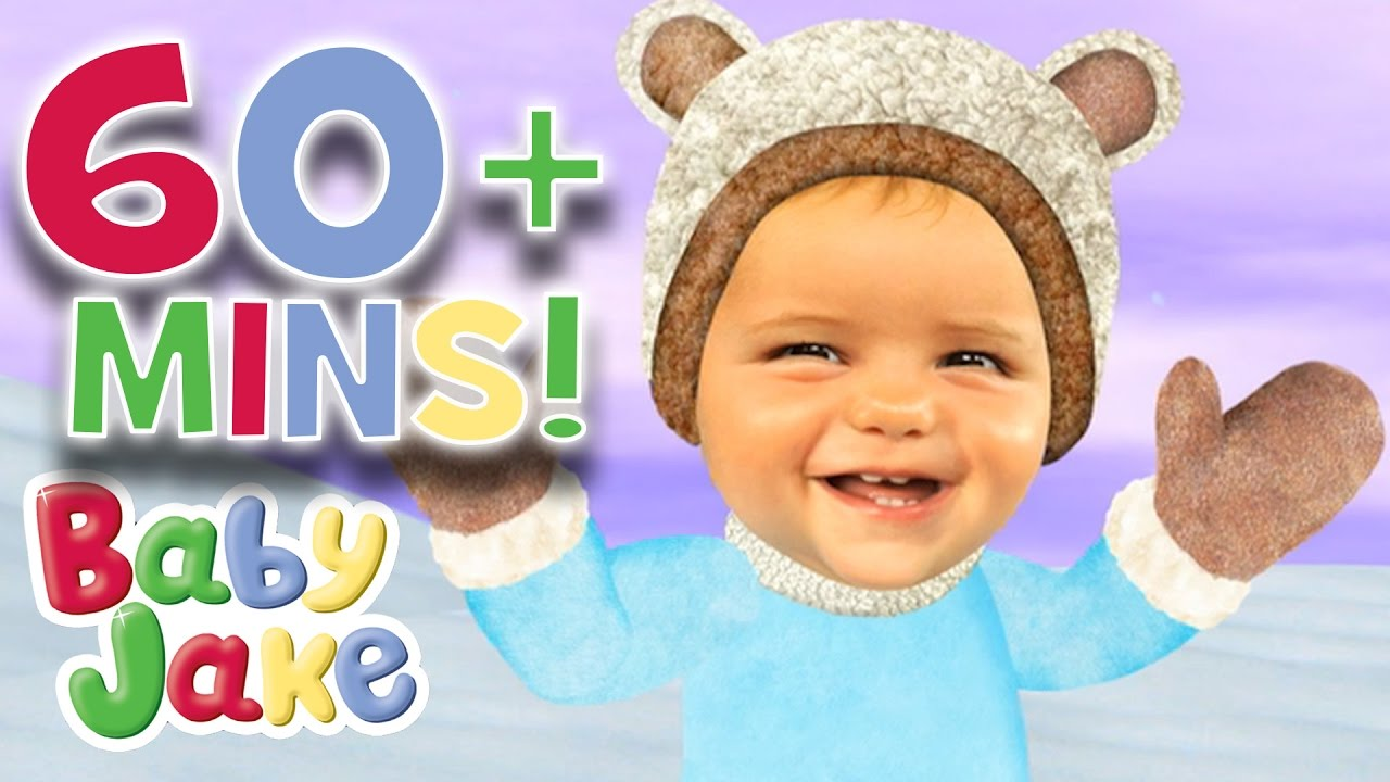 Baby Jake - Snowy Adventures (60+ mins) - YouTube