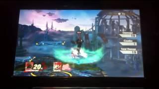 Smash 4 - Ganondorf: Down Smash Showcase