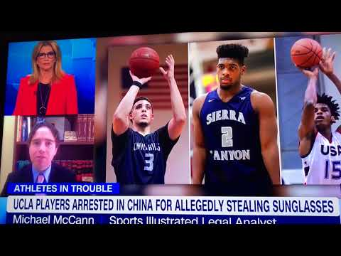 CNN Headline News interview on LiAngelo Ball detainment in China