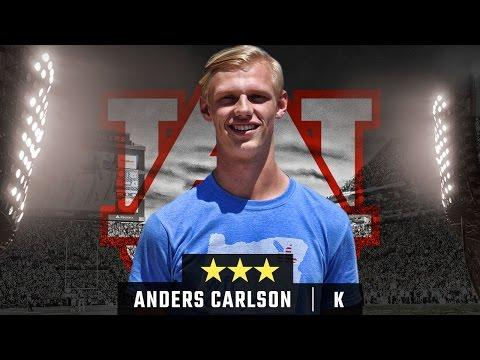 Auburn Signee Profile: Anders Carlson