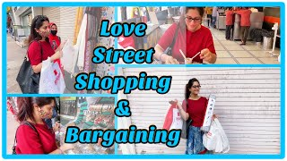 Bargaining while street shopping | Lokhandwala market| Love Street shopping | Dipika Kakar Ibrahim