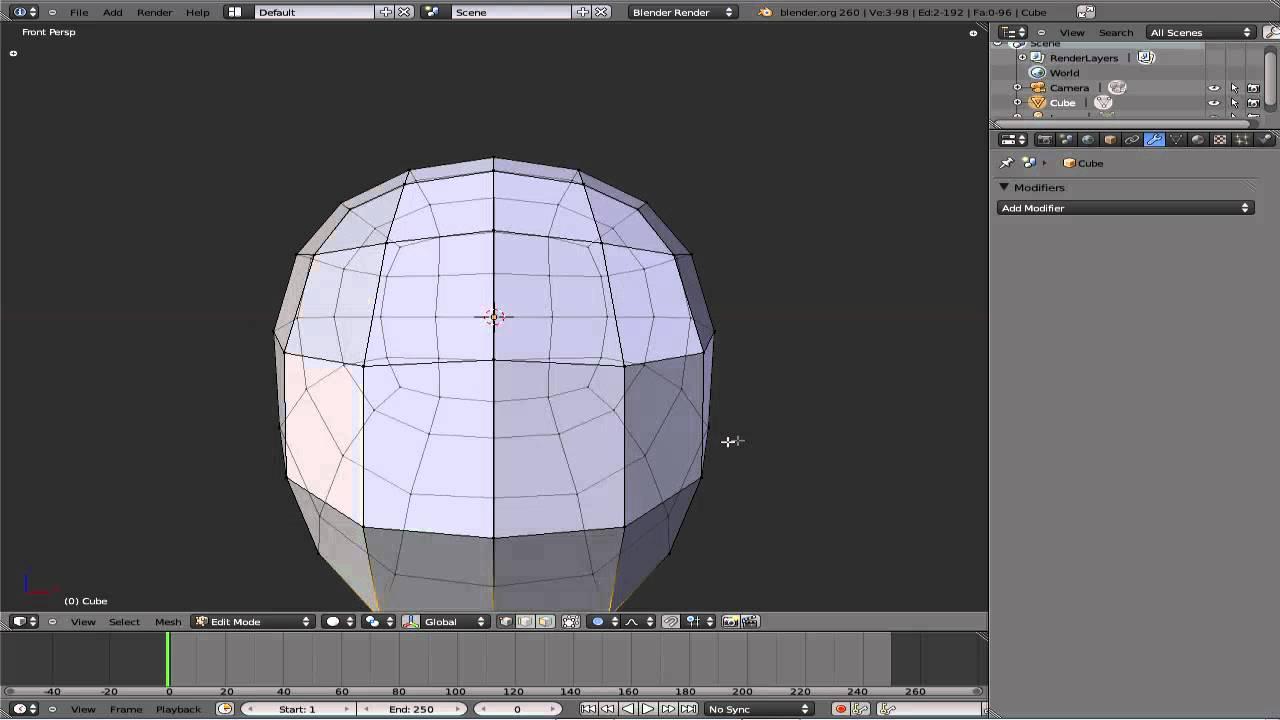 Modelado De Una Cabeza Básica En Blender 2 60 Modelos