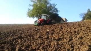 trattore same virtus 120 con aratro ermo