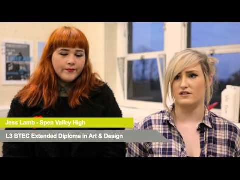 Kirklees College  Batley School of Art  Student Experience SD