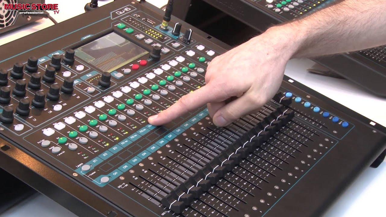 Musikmesse 2013 Allen Amp Heath Qu 16 Digital Mixer