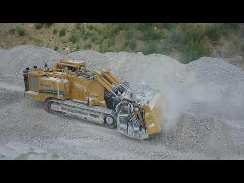 Vermeer T1255TL Surface Mining Video