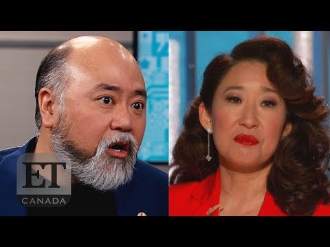 'Kim's Convenience' Stars React To Sandra Oh's Golden Globes Jokes