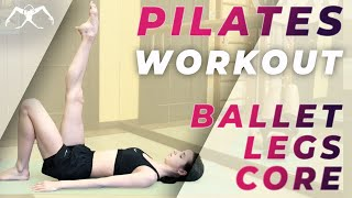 PILATES WORKOUT in ballet style for LEGS & CORE