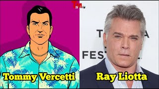 All Characters and Real Voice Actors | Grand Theft Auto: Vice City 2002