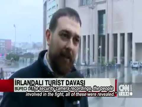 Attorney Gokhan Cindemir interview regarding in front of istanbul court building