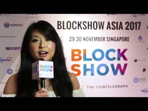 Sheree Ip at BlockShow Meetup in Hong Kong!