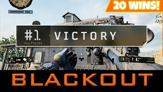 ✅BLACKOPS 4 BLACKOUT - MAP UPDATE! 20+ WINS COD BATTLE ROYALE! Xbox One X