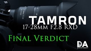 Tamron 17-28mm F2.8 RXD (A046) Review   4K