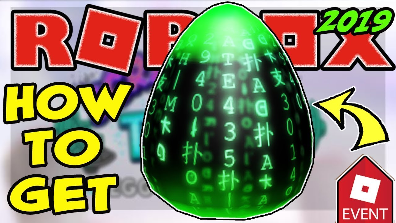 Event How To Get The Eggtrix Egg Roblox Egg Hunt 2019 Scrambled In Time Hackr Youtube