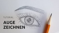 Auge zeichnen Tutorial | Updated | Katharina Sophia