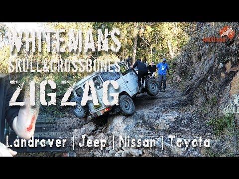 Technical 4x4 Watagans Whitemans | Skull & Crossbones | Zig Zag | ALLOFFROAD#124