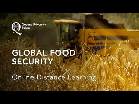 Global Food Security: Online Distance Learning at Queen's