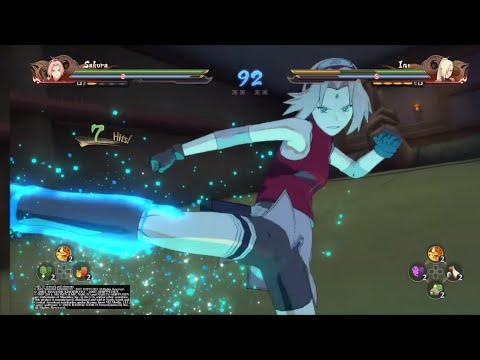 ✊💥 Sakura vs Ino (NARUTO SHIPPUDEN: Ultimate Ninja Storm 4)