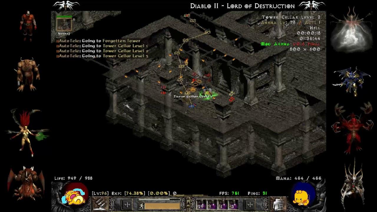 Diablo 2 lod key drops