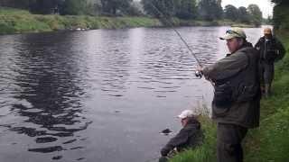 Salmon 25ib Fishing In Ireland