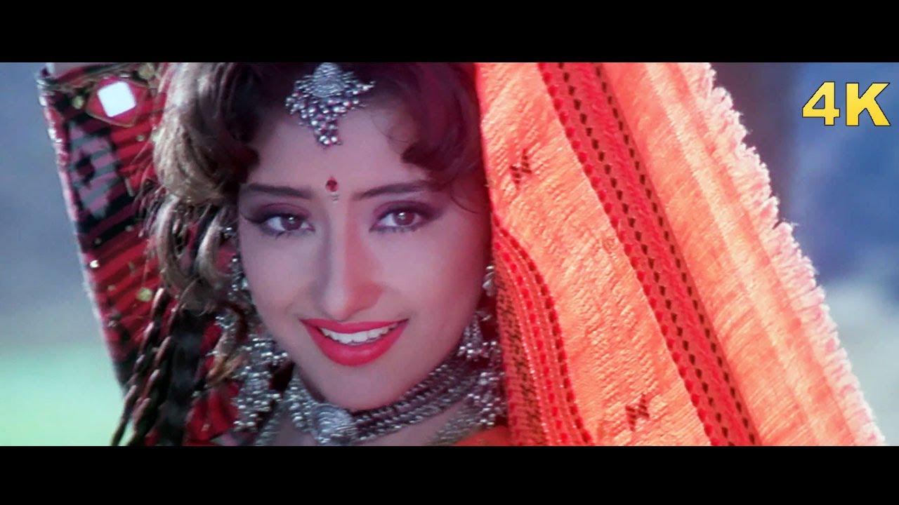 Download Manisha Koirala 4K Song   Deewani Deewani   First Love Letter   Lata Mangeshkar   Bollywood 4K Song