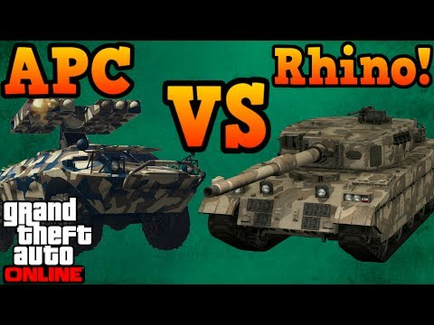 Get APC VS Rhino tank! - GTA Online Screenshots