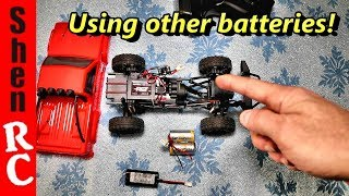 RGT ADVENTURER ECX BARRAGE FTX OUTBACK 1/24 CRAWLERS BATTERY OPTIONS