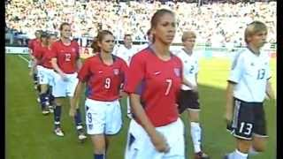 2003 WOMENS WORLD CUP USA vs. Germany (Match 5)