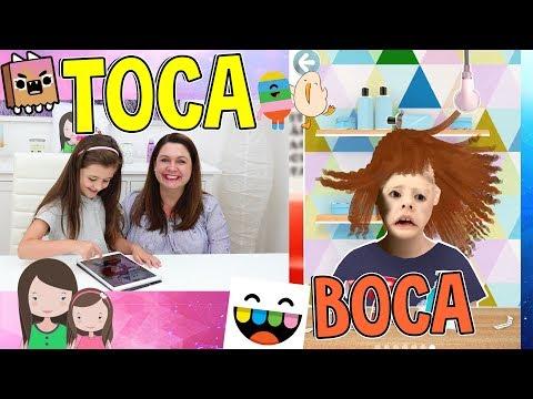 AVA beim Friseur! VERRÜCKTES STYLING - Krasse Frisuren mit Toca Boca Hairsalon LETS PLAY - Alles Ava