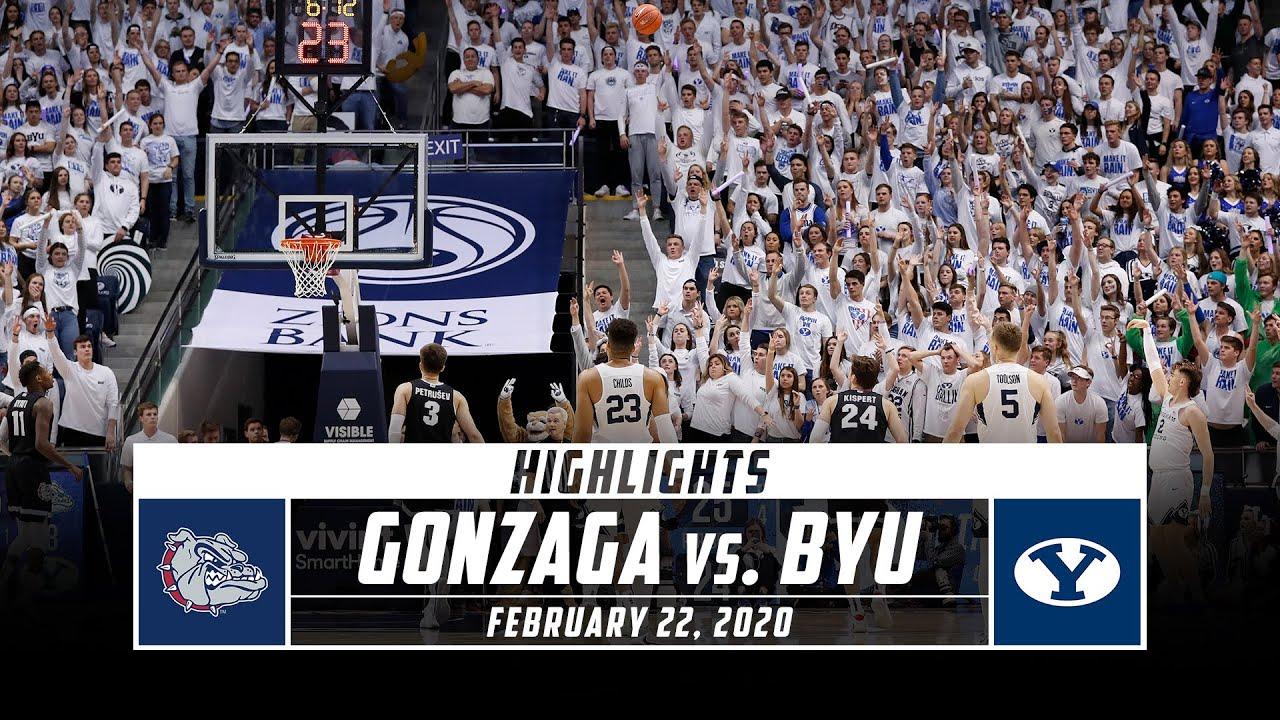 How to watch no. 23 BYU Basketball vs. no. 2 Gonzaga