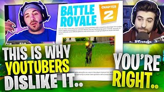 Why Fortnite Chapter 2 Could Be Bad For YouTubers.. Ft. SypherPK